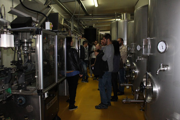 eprojectconsult cultural visit for students at winery company