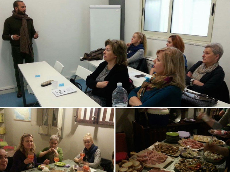 presentation and dinner collage for teachers by eprojectconsult