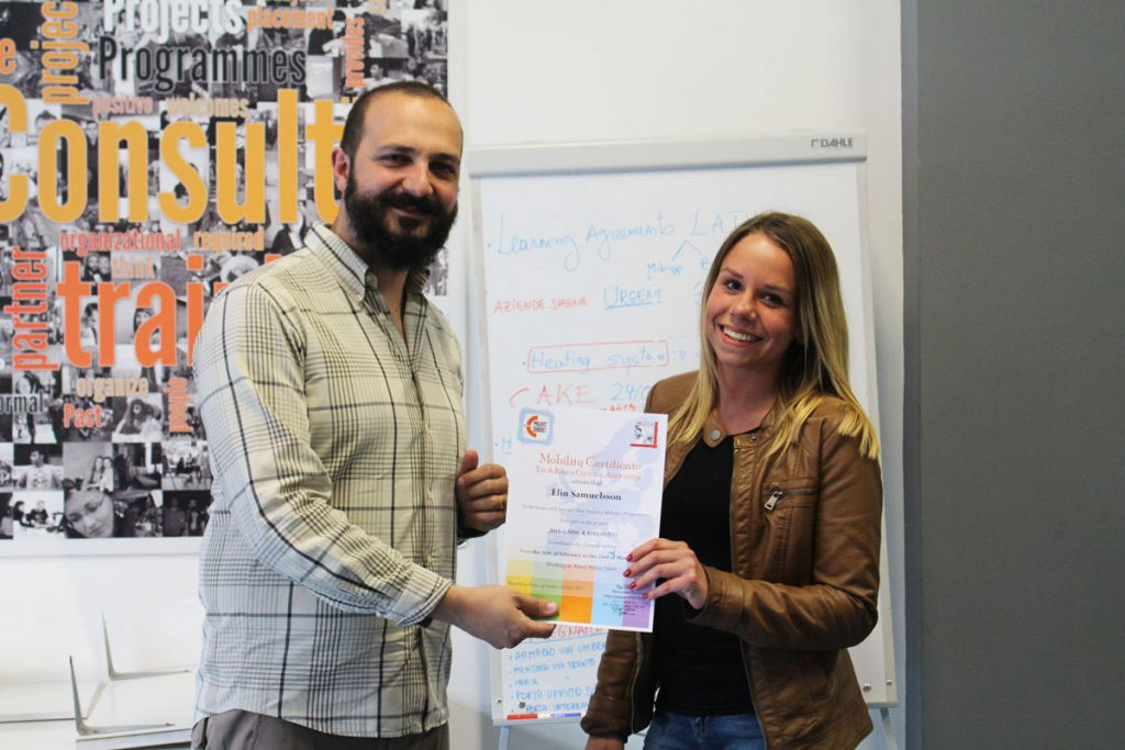delivery certificate for student by nino of eprojectconsult