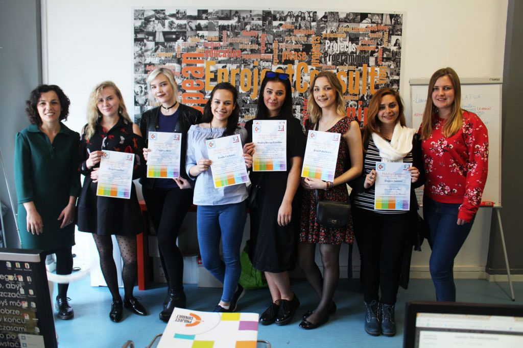 eprojectconsult certificates in the office