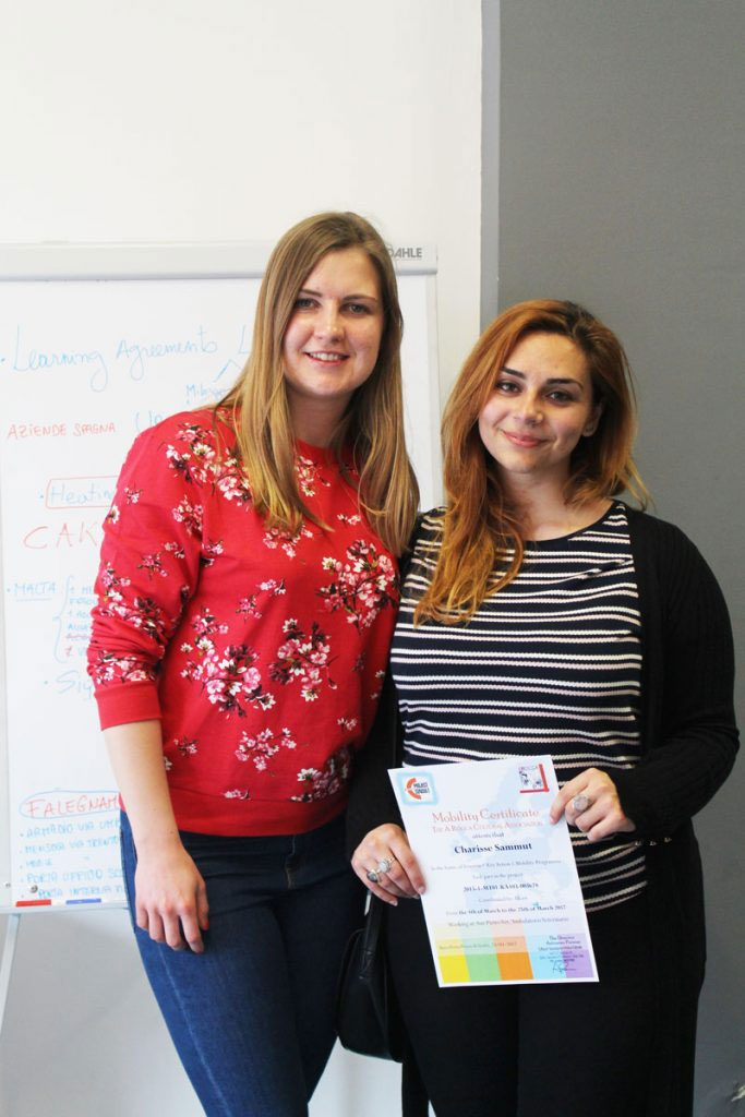 certificate delivery for trainer by joanna