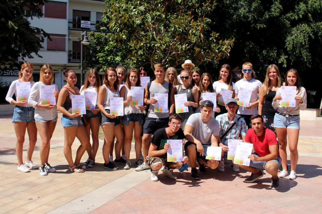 certificates delivery for the eprojectconsult students