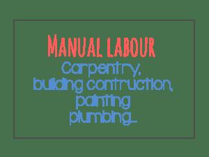 Manual labour sectors