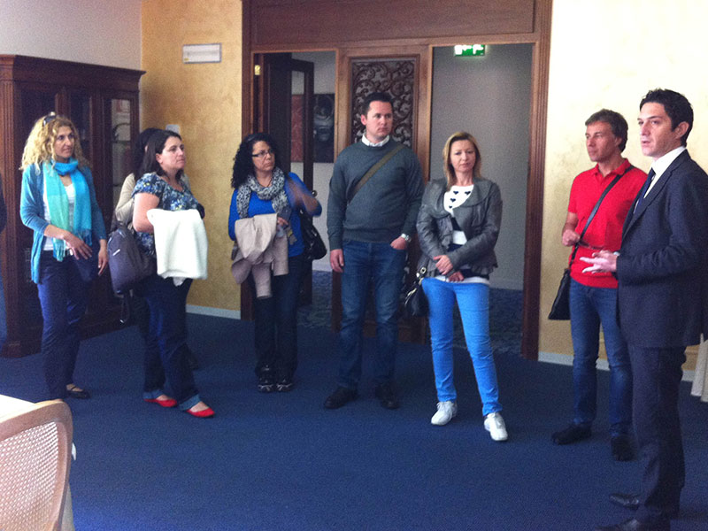eprojectconsult teachers at school visit for erasmus+