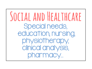 Social and healthcare