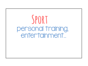 Sport sectors
