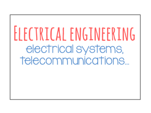 electrical engineering sectors