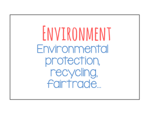 environment sectors