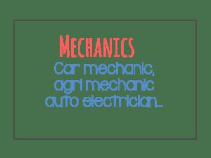 mechanics sectors
