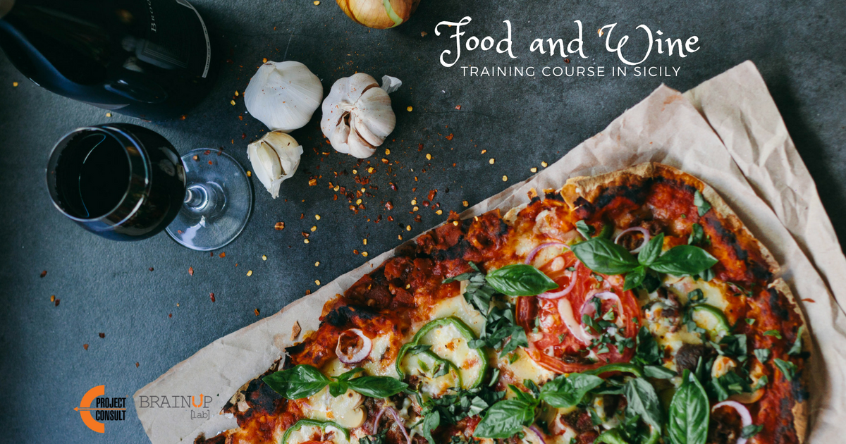 A training course about Food & Wine, a sicilian experience by EProjectConsult