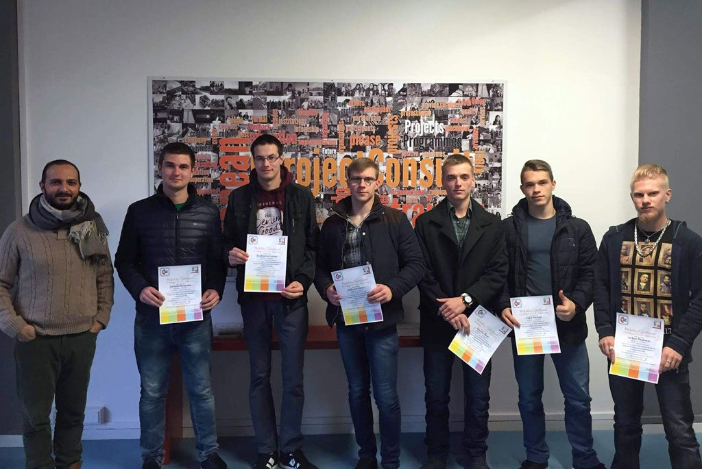 certificates at students by eprojectconsult