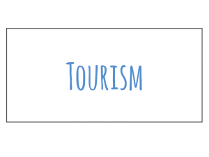 tourism section of EProjectConsult