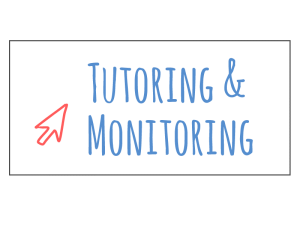 EProjectConsult tutoring and monitoring