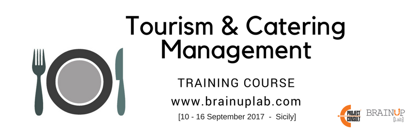 EProjectConsult Training course Tourism & Catering Management September 2017
