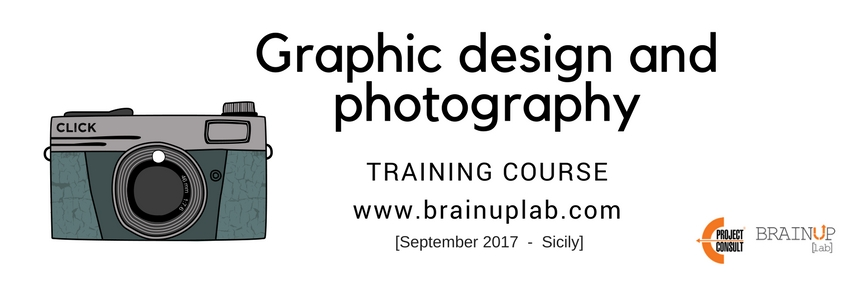 EProjectConsult Training course Graphic Design & Photography September 2017