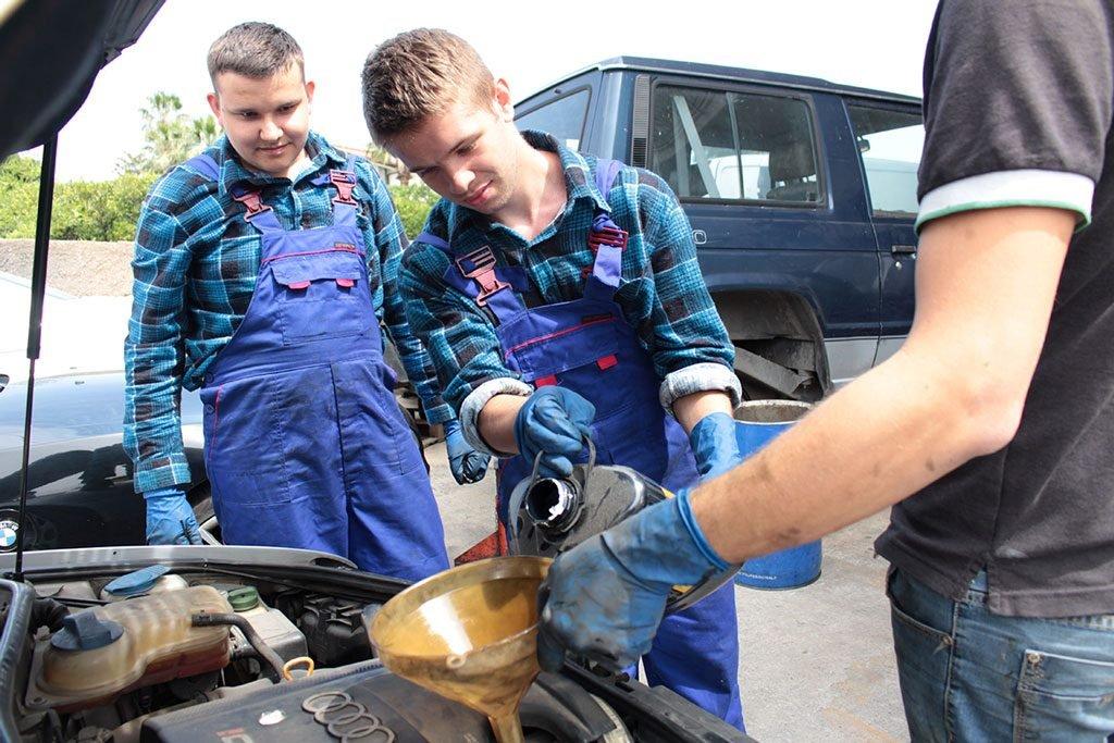 mechanic guys at work