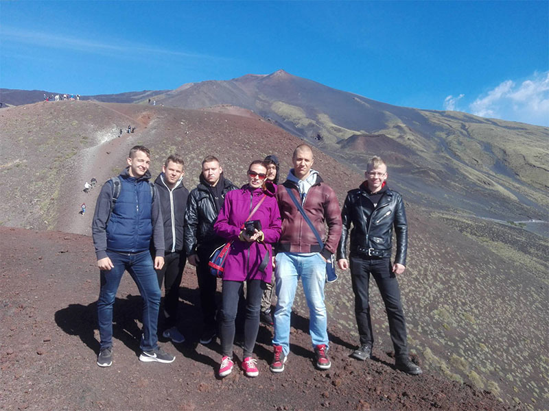 EProjectConsult group in Etna visit
