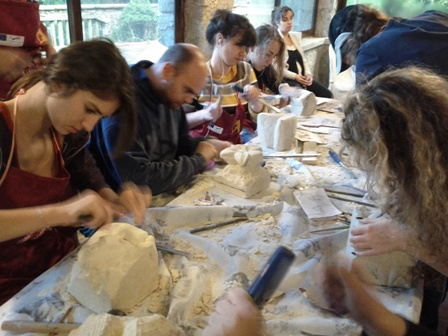 training course in sculpture with EprojectConsult