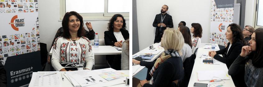Erasmus+ Contact Seminar EProjectConsult report