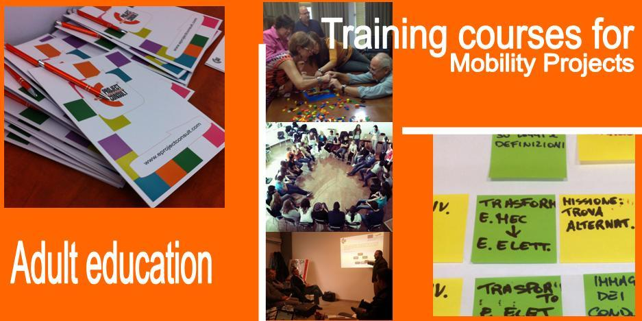 EProjectConsult adult education and training courses
