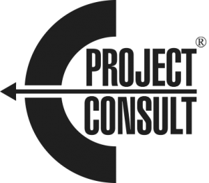 EProjectConsult logo Black and white