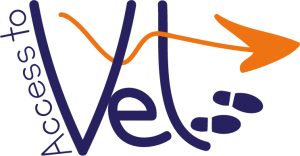 Access to vet official logo image for the project